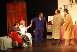 Teatre a càrrec del grup d'adults de l'Aula Municipal de Teatre (Imatge: Arxiu)