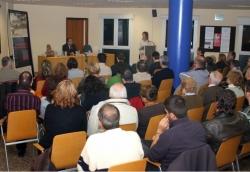 """27-11-2008 - Conferència: """"El darrer tram de la Guerra Civil i les aportacions de l'estudi de l'aeròdrom de Montornès"""""""