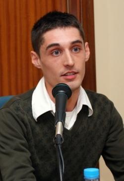 27-11-2008 - José Javier Guidi, guanyador de la Beca de Recerca Històrica 2008