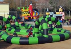 06-12-2008 - Festa per a la canalla amb inflables i jocs
