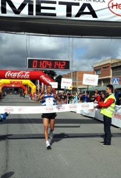 L'arribada del guanyador de la cursa