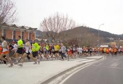 Primers metres de la cursa al Gran Vial