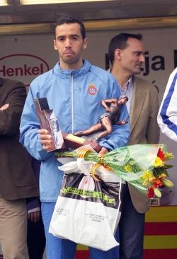 Moustafa El Younes, guanyador de la Mitja