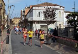 Els atletes, al carrer Major