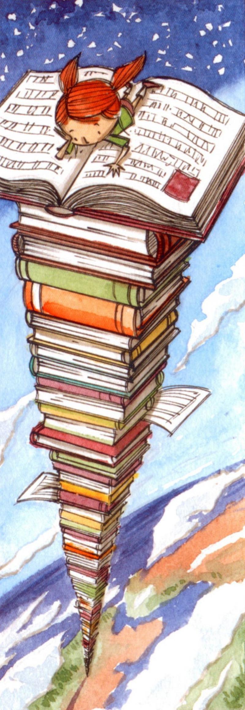 Punt de llibre guanyador del IV Concurs de Narrativa, Poesia i Punts de Llibre. Obra de Daniel Seguí Florit.