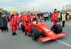 (Els Play Xics F1 Team, amb el seu fórmula 1)