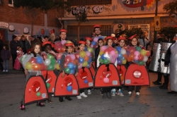 Primer premi grup infantil - Les gum machines