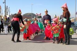 Carnaval menut - Disfressa més treballada - Els dracs xinesos de l'Amiga formiga