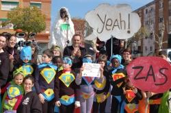 Carnaval menut - Disfressa més participativa - Els superherois de l'Esplai Panda