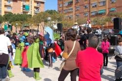 Carnaval menut - Festa a la plaça del Poble