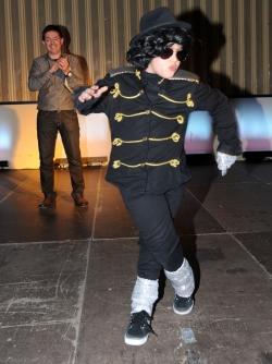 Millor disfressa infantil individual - Michael Jackson