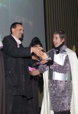 "Concurs de disfresses - 1r premi adults parella: ""Los guardianes"""