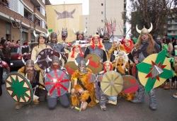 """Concurs de disfresses - 1r premi adults comparsa: """"Vikingos"""""""