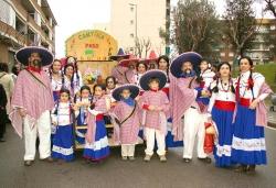 """Concurs de disfresses - 3r premi adults comparsa: """"Cantina el Paso"""" (Premi atorgat en subsitució del 2n premi de comparses infantils, per manca de participants)"""