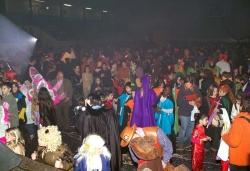 Festa de Carnaval al Pavelló Municipal d'Esports