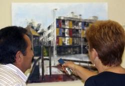 Una de les obres participants al concurs