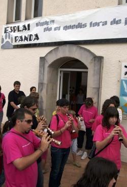 Exposició sobre els 25 anys de l'esplai Panda, a la Galeria Municipal de Can Xerracan