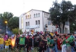 Concentració de Gegants, Drac i Diables a la plaça dels Països Catalans