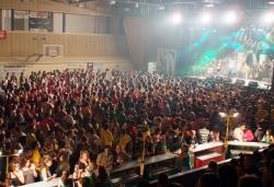 Concert de Celtas Cortos al Pavelló Municipal d'Esports