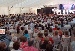 Concert a l'envelat amb l'Orquestra Maravella