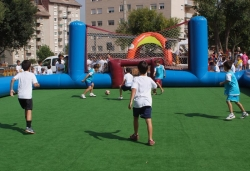 III Diada d'Esport al Carrer a la plaça de Pau Picasso