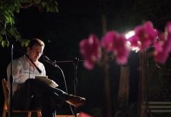 Recital poètic als jardins de Can Xerracan