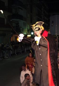 Dissabte de Carnaval - Sa Majestat Carnestoltes a la rua