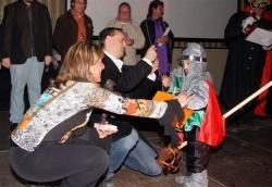 Dissabte de Carnaval - 2n premi parella infantil: Els guerrers de les Creuades