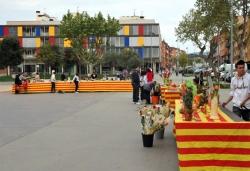 23 d'abril - Sant Jordi a la plaça de Pau Picasso