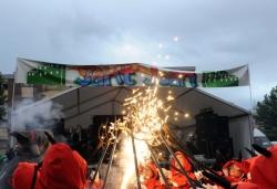 Espectacle de foc (Imatge d'arxiu)