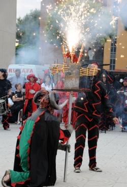 23-06-2011 - Espectacle de foc a càrrec de la Colla de Drac i Diables