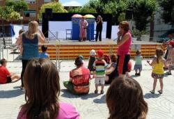 25-06-2011 - Animació infantil a la plaça del Poble
