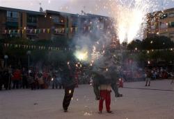 Dilluns, 23 de juny - Exhibició de foc amb la colla de Drac i Diables