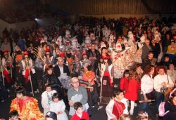 21 de febrer - Lliurament de premis del concurs de disfresses i ball al pavelló