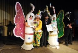 13 de febrer - Las mariposas - Primer premi adult parella del concurs de disfresses