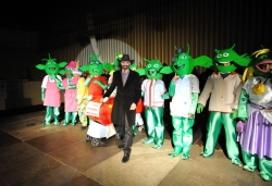 13 de febrer - Planet 51 - Primer premi adult grup del concurs de disfresses