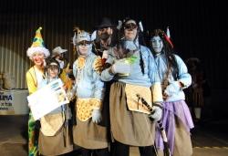 13 de febrer - Avatar - Primer premi infantil grup del concurs de disfresses