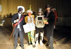13 de febrer - Robot - Segon premi adult individual del concurs de disfresses