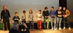 Mencions per categories del Club Futbol Montornès