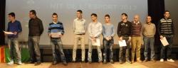 Integrants dels equips finalistes sènior
