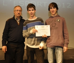 Integrants de l'equip Cadet de l'Associació Esportiva Montornès Futbol Sala