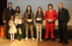 Finalistes a la millor esportista infantil