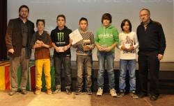 Finalistes al millor esportista infantil