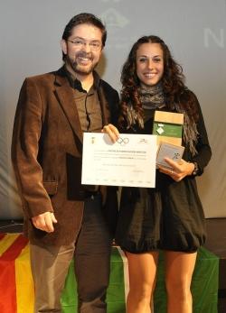 Patricia Purificación Martos (CE Montornès Atletisme) - Millor esportista sènior de la temporada 2011-2012