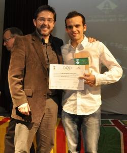 Artur Bossy Anguera (CE Montornès Atletisme) - Millor esportista sènior de la temporada 2011-2012