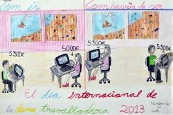 """1r Premi infantil - """"Com és i com hauria de ser"""" Wafae Ahaddad"""