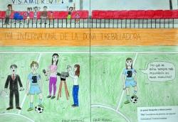 """2n Premi Infantil: """"Importància de gèneres als esports"""" Chaima Ahaddad"""
